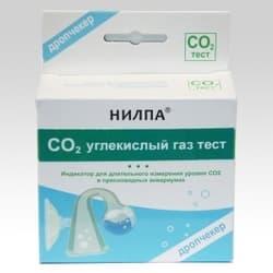 Тест для воды CO2 — тест для длительного измерения уровня углекислого газа в воде дропчекер и индикатор