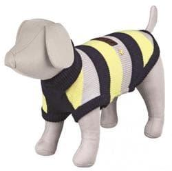 Попона для собак Adamello, S: 40 см, синий / серый / желтый