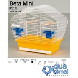 P018 Клетка InterZoo для птиц BETA MINI 365X200X340 (О.С.)