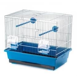 P056 Клетка InterZoo для птиц KANAREK 390X250X335 О.С.