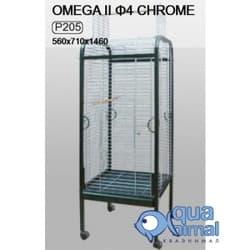 P205 Клетка InterZoo для птиц OMEGA II (4мм) 560X710X1460