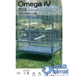 P215 Клетка InterZoo для птиц OMEGA IV (4мм) 750х1000х1750