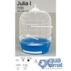 P230 Клетка InterZoo для птиц JULIA I (OKRUGLA I) 340X520