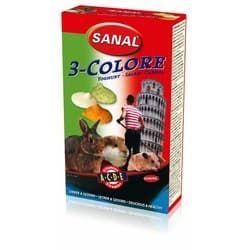 SK7250 SANAL витамины для грызунов 3-Color Drops 3в1 45г