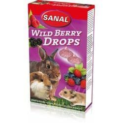SK7400 SANAL витамины для грызунов Wild Berry Drops 45 г