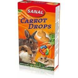 SK7550 SANAL витамины для грызунов Carrot Drops 45 г