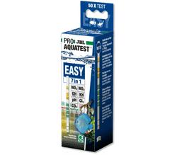 JBL EasyTest 7in1 - Полоски для экспресс-теста воды по 7 основным параметрам, 50 шт