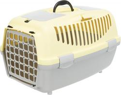 Trixie Переноска для собак Capri 2, XS 37х34х55 см, артикул 39825 светло-серый/желтый