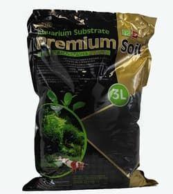 ISTA Субстрат для аквариумных растений и креветок премиум класса 3л, гранулы 1,5-3,5мм