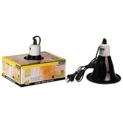 Светильник для террариума Reptile One Heat Lamp Reflector D 15см, для ламп с цоколем Е27, мощностью до 50 W