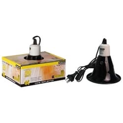 Светильник для террариума Reptile One Heat Lamp Reflector D 22см для ламп с цоколем Е27, мощностью до 100 W
