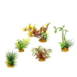 Набор пластиковых растений PRIME 5шт