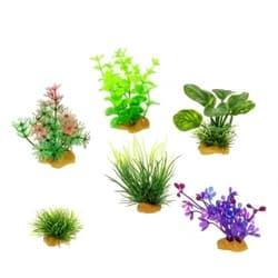 Набор пластиковых растений PRIME 6шт