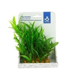 Растение пластиковое PRIME Гигрофила зеленая 15см
