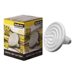 Керамический нагреватель для террариума Reptile One Ceramic Heat Lamp (100W, E27)