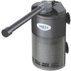 Фильтр-мини внутренний для нано аквариумов, угловой с дождевальной флейтой и регулятором потока, 3,5W 50-200л/ч,акв. до 50л HL-MV-200