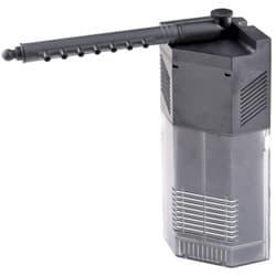 Фильтр внутренний угловой с поворотной дождев. флейтой и регулятором потока, 5W 450л/ч,акв. 60-120л SS-JP-093