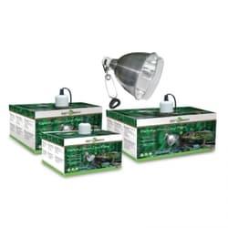 Светильник для террариума на зажиме 02RL, с защитной сеткой, 150Вт, 220мм