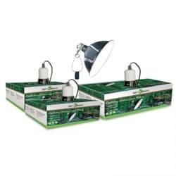 Светильник для террариума на зажиме 04RL, 75Вт, 140мм