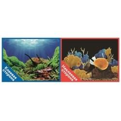 Фон двухсторонний с одной самоклеящейся стороной Морские кораллы/Подводный мир 50x100см 9096-1/9097