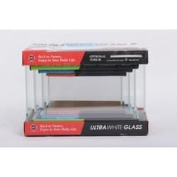 UpAqua Crystal Glass Tank 4in1 S Набор аквариумов Ultra White 4в1, малый(6/9/13/20 литров)