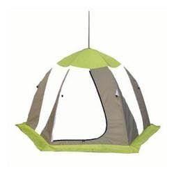 Палатка рыбака Нельма 3 (автомат)хаки/оранжевый