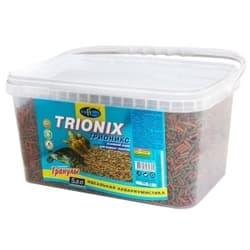 ТРИОНИКС 5,8л/1600г- плавающие палочки (sticks) 2 вида корм для водных черепах (ведро)