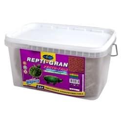 РЕПТИ-ГРАН 5,8л/2100г плавающие гранулы (granules), высокоэффективный корм для молодых водных черепах (ведро)