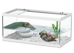 TORTUM 40 Аквариум для черепах, 400х200х180, белый (025), отдельно светильник арт.10074 (нет в наличии)