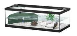 TORTUM 75 Аквариум для черепах, 750х360х250, фильтр ТС500, черный (001), отдельно светильник (нет в наличии)