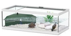 TORTUM 75 Аквариум для черепах, 750х360х250, фильтр ТС500, белый (025), отдельно светильник (нет в наличии)