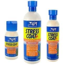 API Стресс Коат - Кондиционер для декоративных рыб и воды (помповый дозатор) Stress Coat, 473 ml