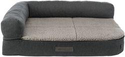 Трикси Лежак-софа ортопедический Bendson Vital , 80х100 см, темно-серый/светло-серый, арт.38274