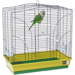 PetInn  Клетка д/птиц  VIOLA (2 большие кормушки, 2 жердочки) 65х36x66 цвет в ассортименте