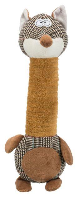 """Трикси Игрушка """"Лиса"""" с длинной шеей, плюш/ткань, 38 см, арт.36117"""