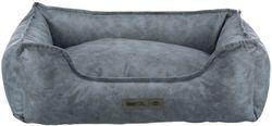 Трикси Лежак с бортиком Calito vital, прямоугольный, 60х50 см, голубой/серый арт.37354