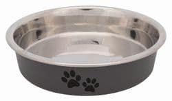 Трикси Миска для кошек короткомордых пород, стальная, 0.25 л/ф 13 см, арт. 25275