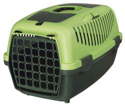 Trixie Переноска для собак Capri 2, XS 37х34х55 см, артикул 39824  темно-зеленый/светло-зеленый