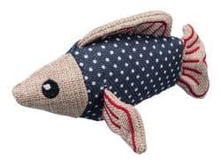"""Трикси Игрушка """"Рыба"""", полиэстер/хлопок, 14 см, арт.45523"""