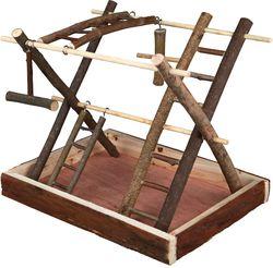Трикси Игровая площадка для птиц 35х27х30 см, арт.5663