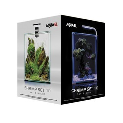 Акваэль Аквариум SHRIMP SET SMART LED DAY&NIGHT 10 (10л)