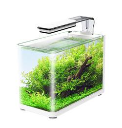 Аквариум Atman RGT-35 13 литров, 35,4х18,4х26 см (в комплекте внутренний фильтр, LED светильник, покровное стекло