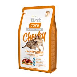 Брит 7кг Care Cat Cheeky Outdoor для активных кошек и кошек уличного содержания 132612