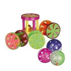 Trixie Набор пластиковых игрушек для кошек, 60 шт. арт.4099