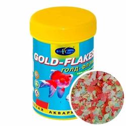 ГОЛД-ФЛЭКС 250мл/45г - хлопья (flake), корм для золотых рыб