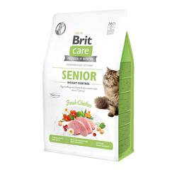 Брит 2кг Care Cat GF Senior Weight Control для кошек старше 7 лет Контроль веса 540945
