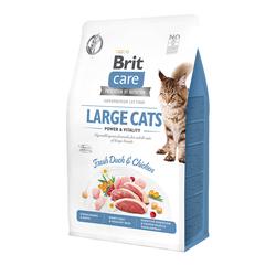 Брит 2кг Care Cat GF Large cats Power&Vitality для взрослых кошек крупных пород 540914