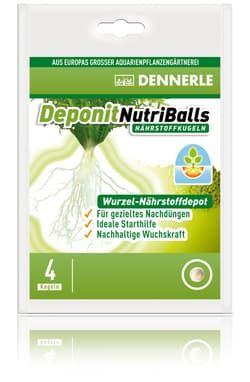 Добавка профессиональная грунтовая DENNERLE Nutriballs 4 таблеток