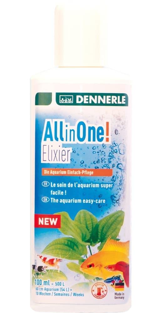 Добавка Dennerle All in One! Elixier для комплексного ухода за аквариумом, 100мл
