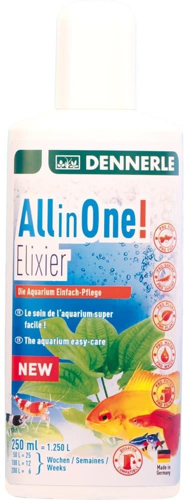 Добавка Dennerle All in One! Elixier для комплексного ухода за аквариумом, 250мл